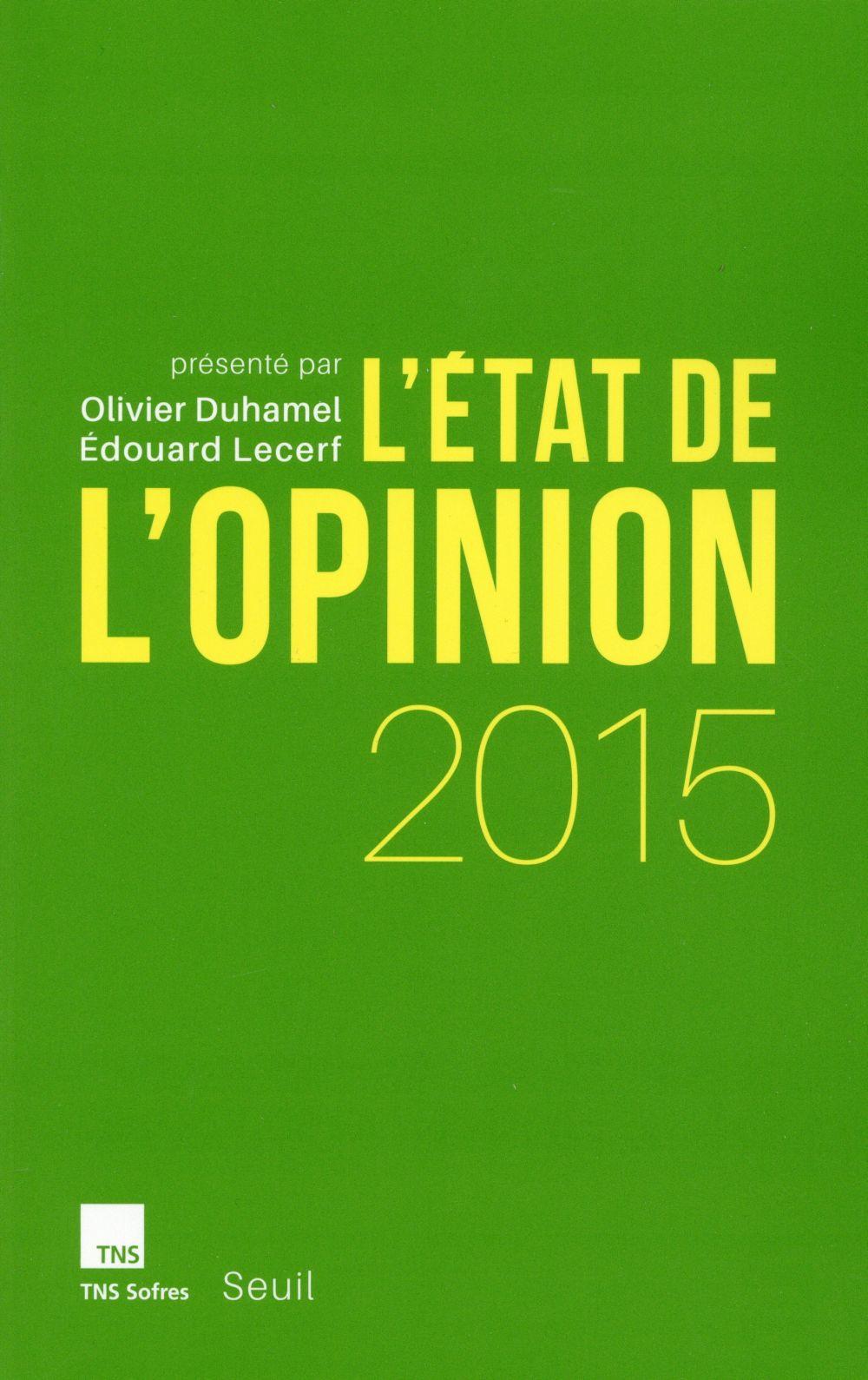 L'état de l'opinion 2015
