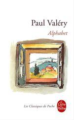 Vente Livre Numérique : Alphabet (Nouvelle édition)  - Paul Valéry