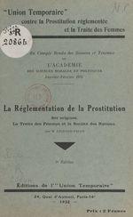 Vente EBooks : La réglementation de la prostitution : ses origines, la traite des femmes et la Société des Nations  - Marcelle Legrand-Falco