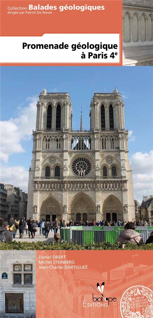 Promenade géologique à Paris 4e