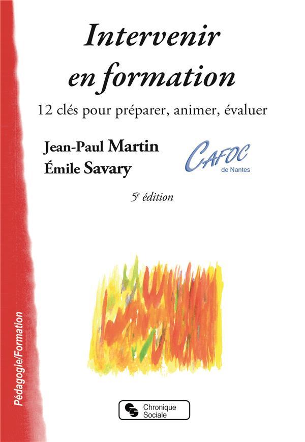 Intervenir en formation (5e édition)