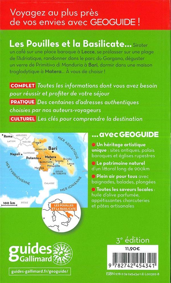 GEOguide ; Pouilles et Basilicate (édition 2019)