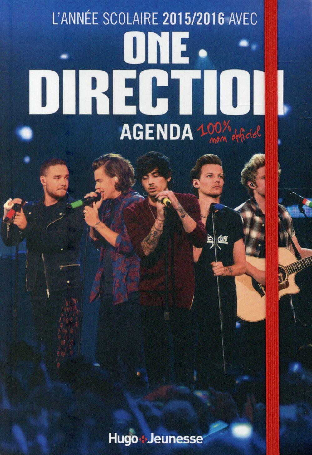 One Direction ; Agenda 100% Non Officiel ; L'Annee Scolaire 2015-2016