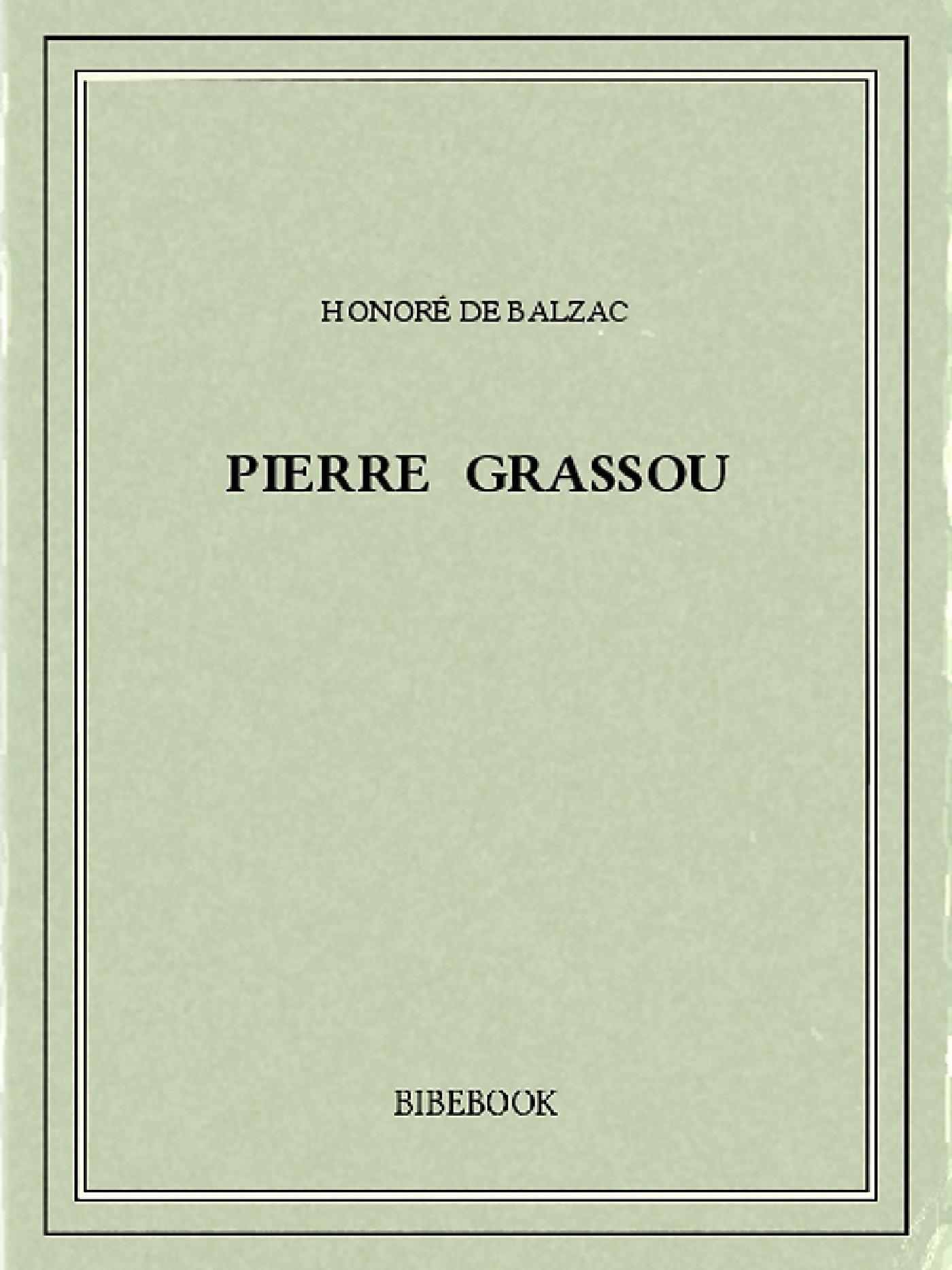 Pierre Grassou