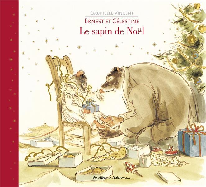 Ernest et Célestine ; le sapin de Noël