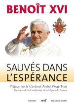 Vente Livre Numérique : Sauvés dans l'espérance  - Benoît XVI