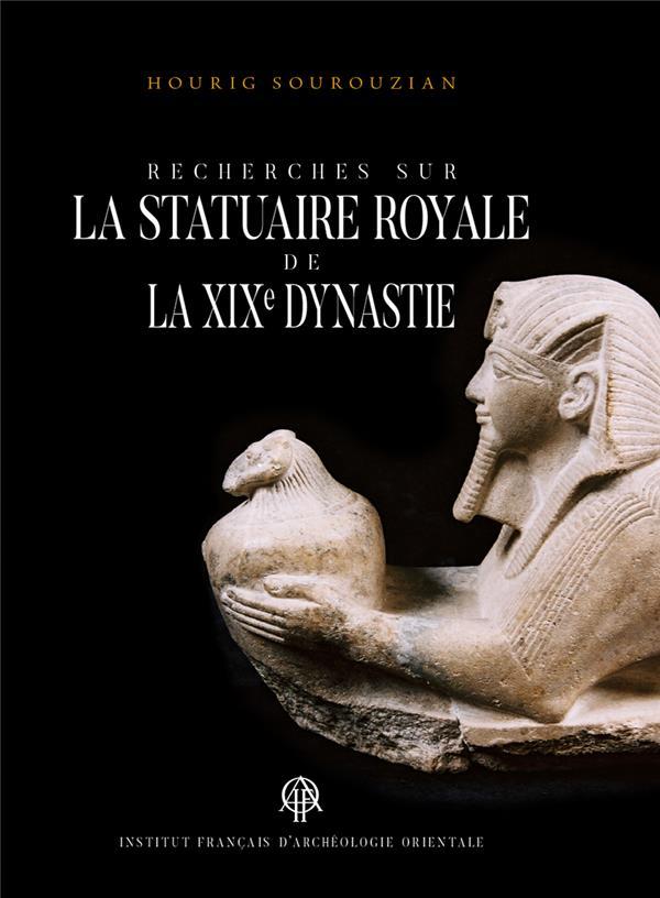 Recherches sur la statuaire de la XIXe dynastie