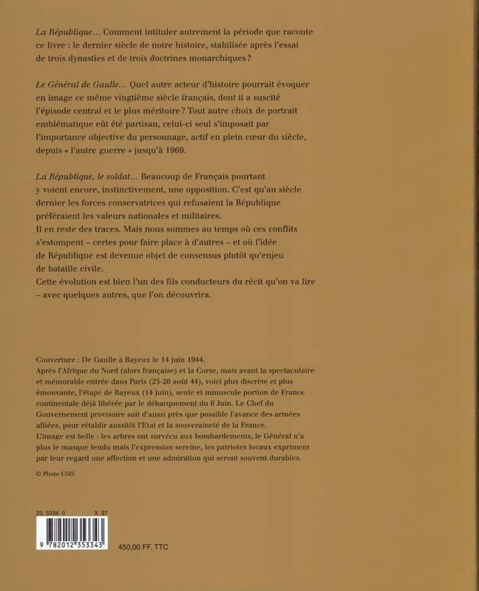 Histoire de france - la republique 1880-1995 (tome 5) - de jules ferry a francois mitterrand