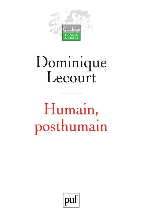 Humain, posthumain