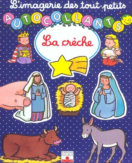 LA CRECHE  -  AUTOCOLLANTS