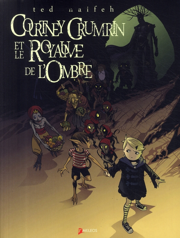 Courtney Crumrin T.3 ; le royaume de l'ombre
