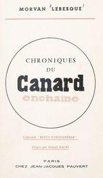 Chroniques du Canard Enchaîné