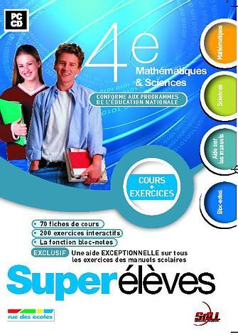 Supereleves ; 4eme ; mathematiques/sciences