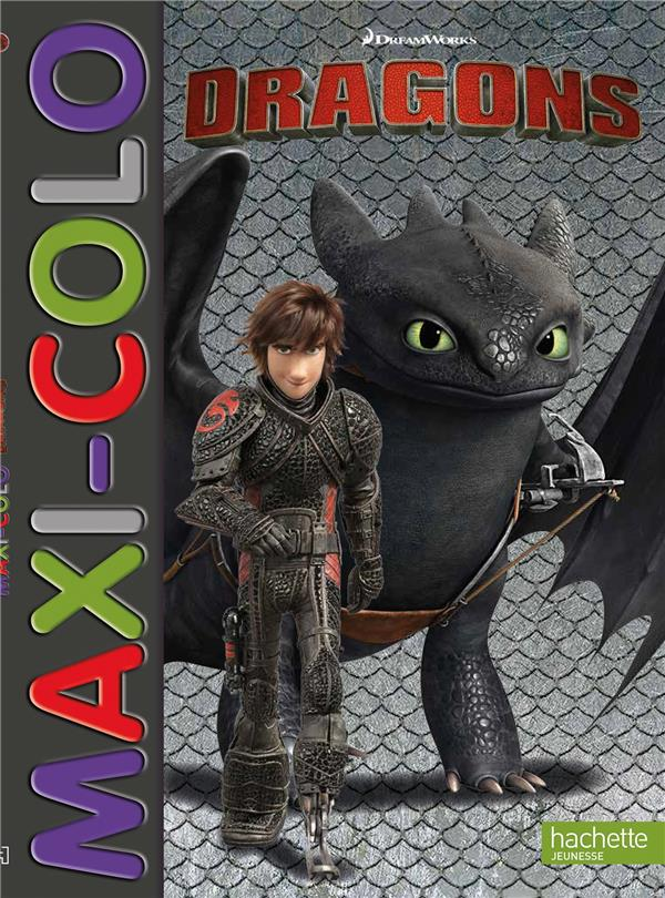 Maxi colo ; dreamworks - dragons