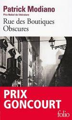 Vente Livre Numérique : Rue des Boutiques Obscures  - Patrick Modiano