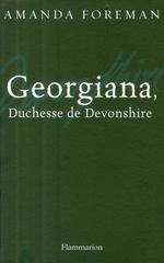 Couverture de Georgiana, duchesse de devonshire