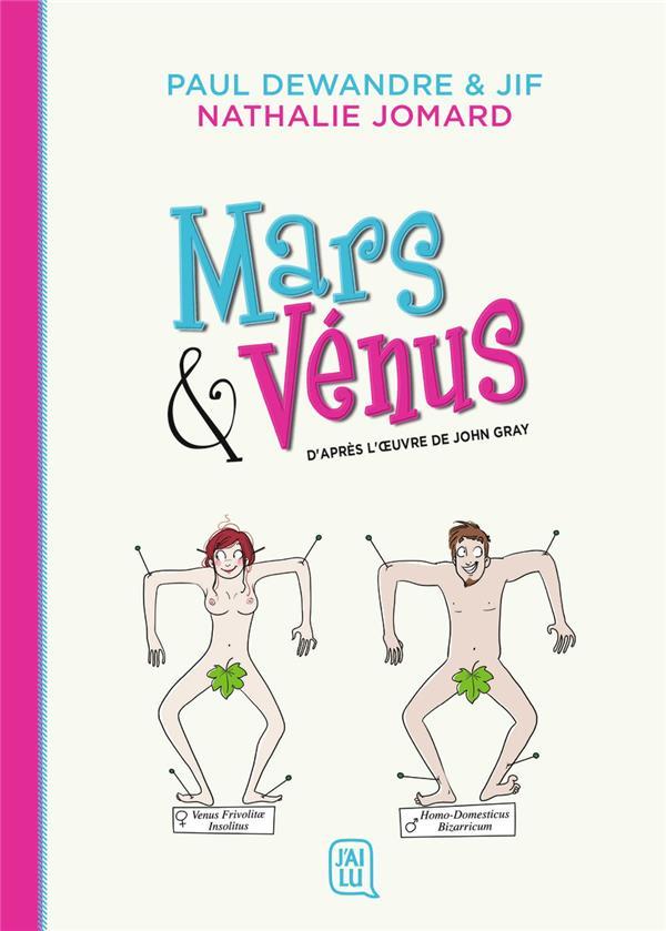 Mars & Vénus ; d'après loeuvre de John Gray