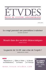 Vente EBooks : Etudes Juin 2014  - Collectif