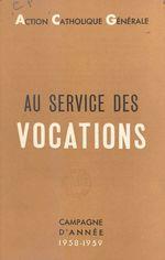 Au service des vocations