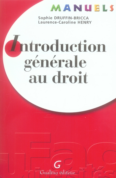 Manuel - introduction generale au droit
