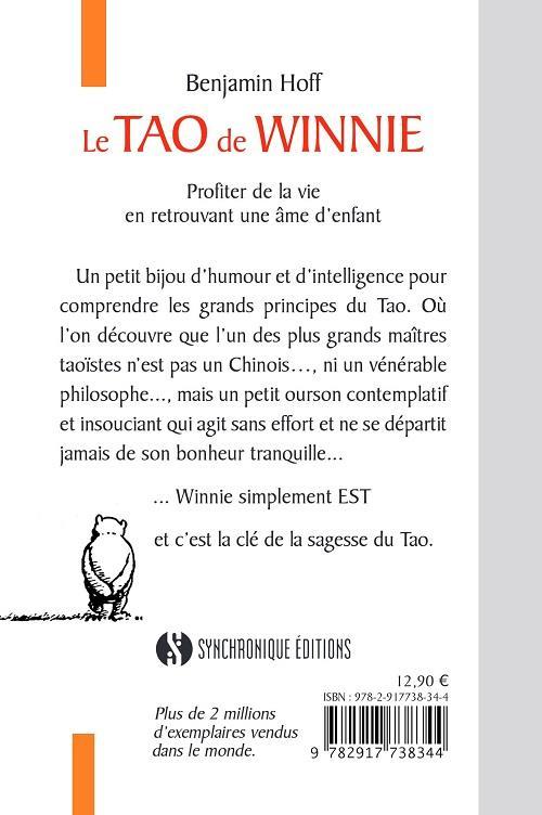 Winnie l'Ourson ; le Tao de Winnie ; profiter de la vie en retrouvant une âme d'enfant
