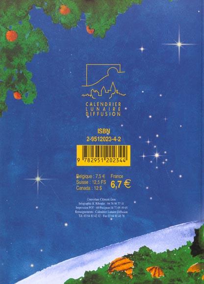 Calendrier lunaire (édition 2003)