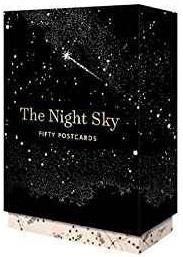 THE NIGHT SKY 50 POSTCARDS ANGLAIS