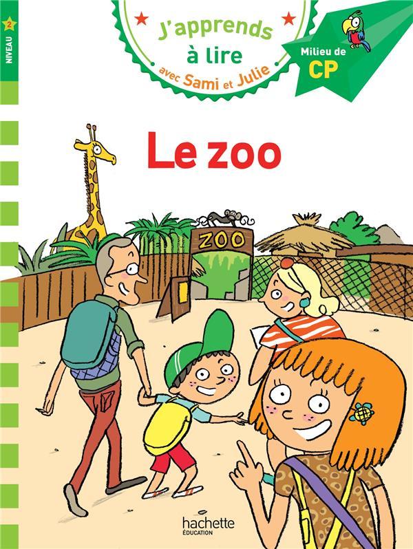 J'apprends à lire avec Sami et Julie ; CP niveau 2 ; le zoo