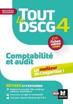 Vente Livre Numérique : Tout le DSCG 4 - Comptabilité et Audit - 3e édition - Révision et entraînement  - Collectif - Alain Burlaud - Sébastien Paugam