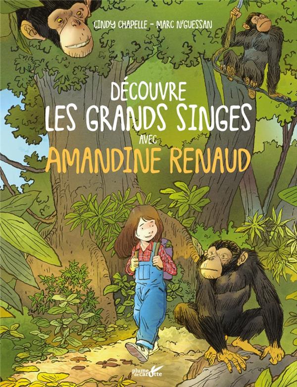 Découvre les grands singes avec Amandine Renaud