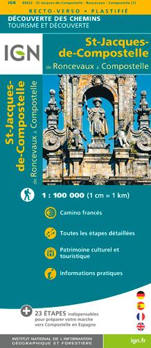 89022 ST JACQUES - RONCEVAUX - COMPOSTELLE