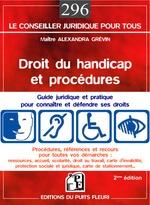 Vente Livre Numérique : Droit du handicap et procédures  - Alexandra Grévin