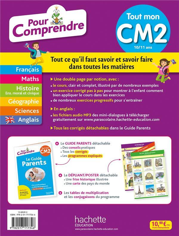 Pour comprendre toutes les matières ; CM2
