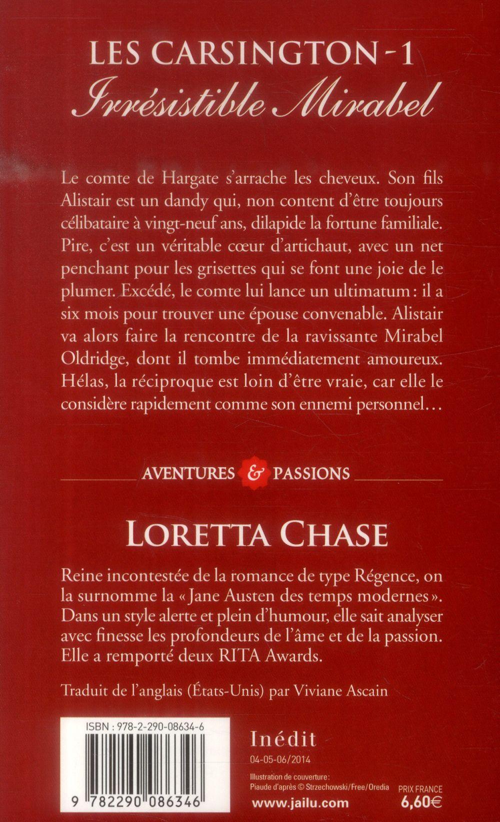Les Carsington t.1 ; irresistible Mirabel