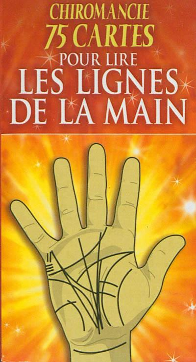 Chiromancie ; 75 Cartes Pour Lire Les Lignes De La Main