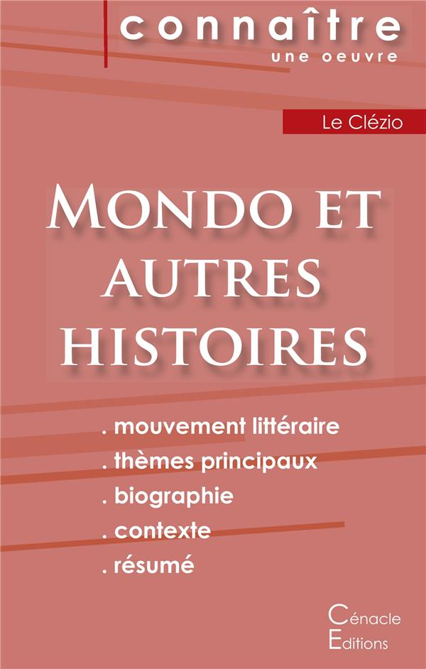 Mondo Et Autres Histoires, De Le Clezio