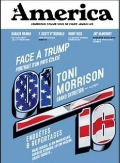 Revue america n.1 ; face a trump, portrait d'un pays eclate ; toni morrison, grand entretien
