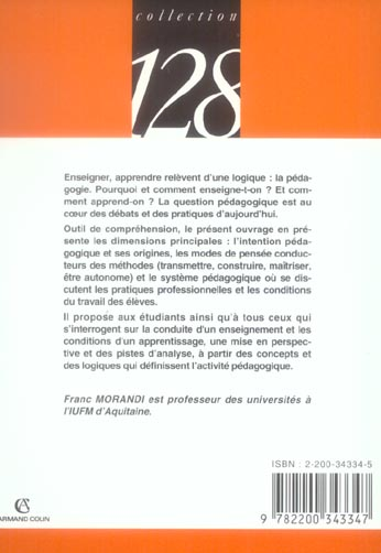 Introduction A La Pedagogie
