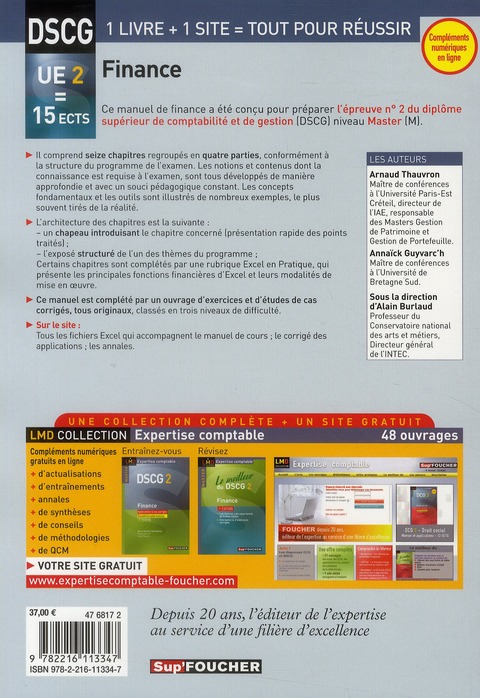 DSCG 2 finance (4e édition)