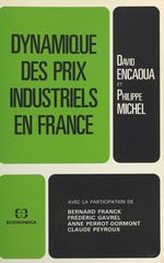 Dynamique des prix industriels en France  - Philippe Michel - David Encaoua