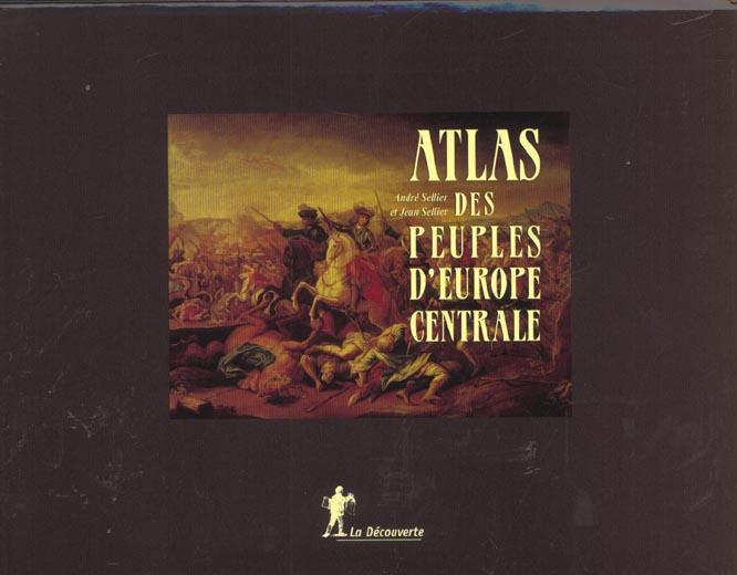 Coffret atlas des peuples d'europe centrale et occidentale