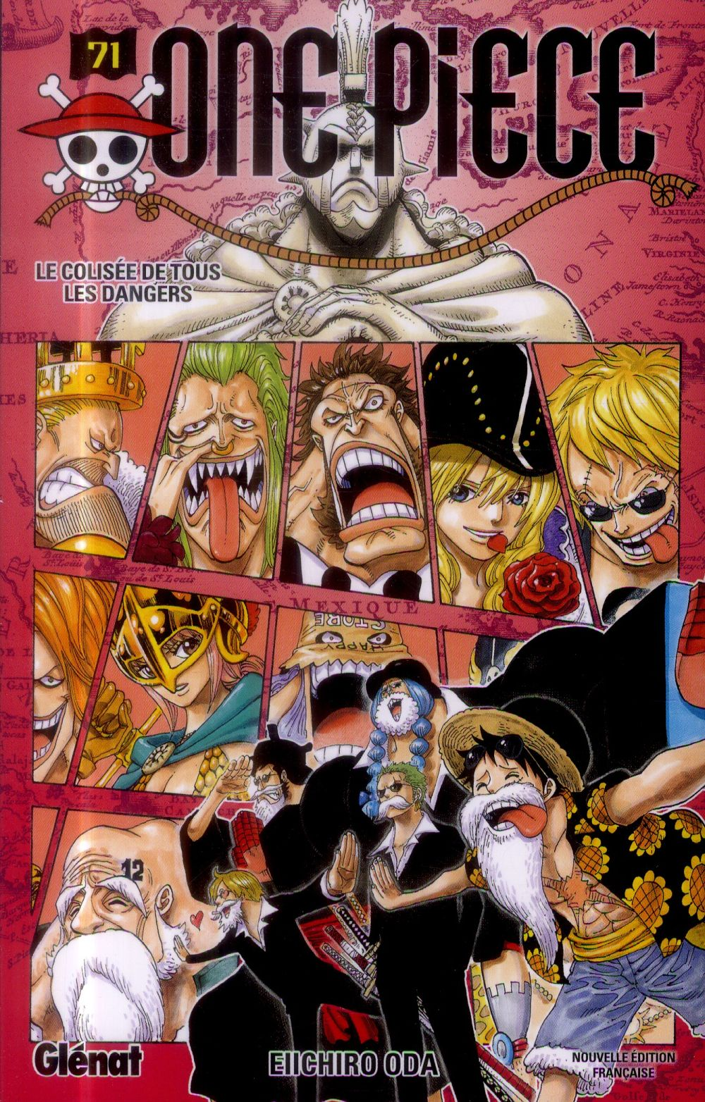 One Piece T.71 ; Le Colisee De Tous Les Dangers