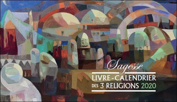 LIVRE - CALENDRIER DES 3 RELIGIONS (EDITION 2020)
