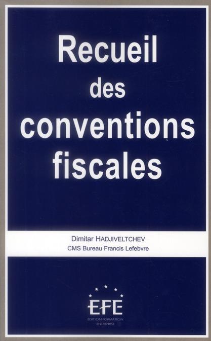 Recueil des conventions fiscales