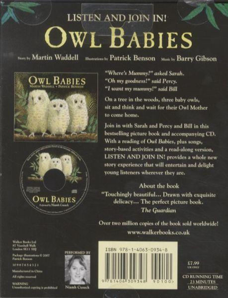 Owl Babies ; CD and Gift Book. Includes Story, Music, Games and Activities