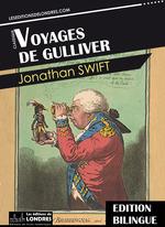 Vente EBooks : Voyages de Gulliver - Bilingue Français - Anglais  - Jonathan Swift