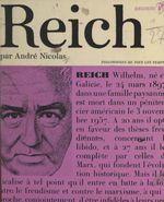 Wilhelm Reich  - Andre Nicolas