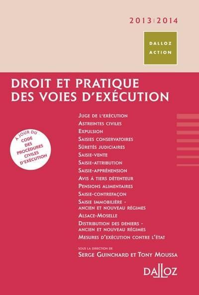 droit et pratique des voies d'exécution (édition 2013/2014)