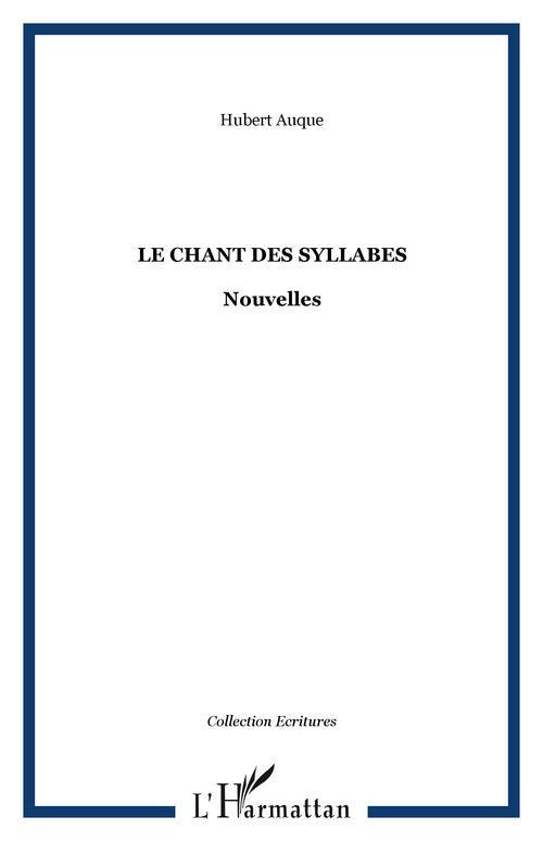 Le chant des syllabes