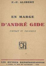 En marge d'André Gide  - François-Paul Alibert